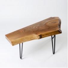 Журнальный стол Asciento из слэба карагача