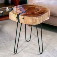 Журнальный стол Ceppas из поперечного спила карагача