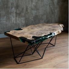 Журнальный стол Bollega из капового дуба