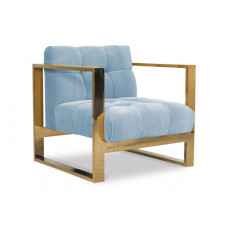 Кресло из бархата Deloise