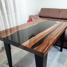 Обеденный стол Marrono из слэбов карагача