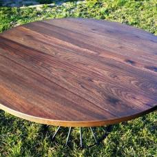 Обеденный стол Cyclos из массива карагача