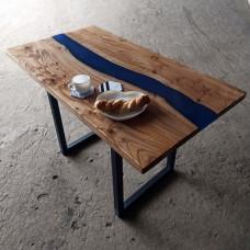 Обеденный стол Azula из слэбов карагача