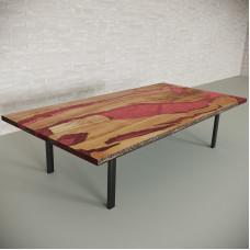 Обеденный стол река из слэбов клена Lifense C11