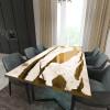 Обеденный стол река из слэбов карагача Lifense C09